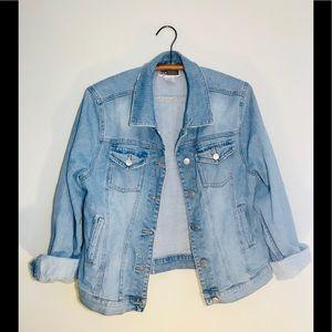 Vintage Retro 90's Oversized Denim Jean Jacket